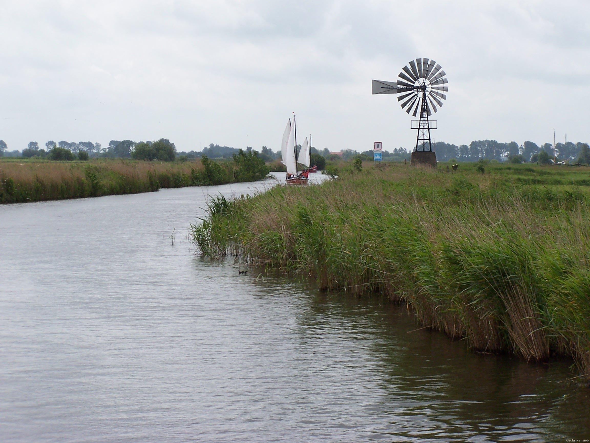 Kanal zum Sneeker Meer